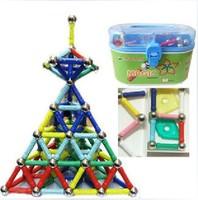 Magnestix Intellectual Magnetic Building Assembly Toy 268pcs magnetic building set