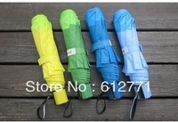 Free shipping, single fold umbrella creative sun umbrellas, prevent exterior sunshade