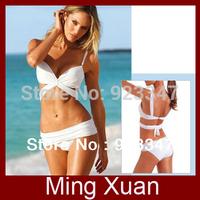 Free Shipping 2013 Sexy Push Up Bra Padded Trikini Bikini Swimwear Swimsuit 2sets/lot