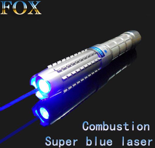 Лазерное перо FOX 5000mw 450nm + D18CL