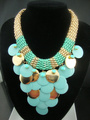 Min.order is15$(mix order)Free shipping,2013fashion colored alloy collar women chunky exaggerated statement choker Bib necklace