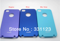 Ultra thin moshi brand Case for iPhone 4 With Retail Box,For iphone4G 4S Moshi Design iGlaze Hard Shell Case Wholesale 30pcs/lot