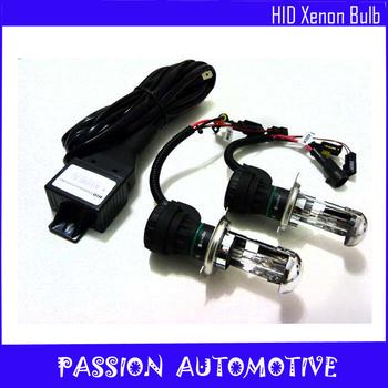 Car Front Light Headlight H4 H4-3 Hi/Lo Bi-Xenon HID Bulb 12V/35W 4300K,6000K,8000K,10000K,12000K Free Shipping