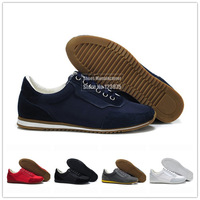 Hot Sale! Luxury Brand Men's Casual Sports Shoes, High Quality Fur+Mesh Vamp+Non-Slip Sole, 5 Colors, Size 41-47, Free Shipping