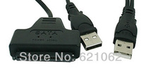 "USB 2.0 to SATA 7+15 Pin 22Pin Adapter Cable For 2.5"" HDD Hard Disk Drive, Free Shipping"