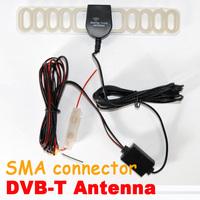Car digital TV Antenna Aerial for DVB-T ATSC ISDB-T Receiver box with Built-in Amplifier + Free Shipping Via HongKong Post