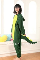Adult Unisex Animal Lovely dinosaur Pajamas Onesie Sleepsuit Cosplay Sleepwear