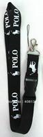 Free shipping 10 pcs polo Phone Lanyard Key ID Neck Strap Team lanyard