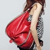 Free shipping Female hobos shoulder bag 2013 hot sell tote handbag fashion pu big casual bags red camel bolsas ladies handbags