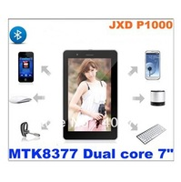 Free shipping JXD P1000 7 inch 3G Phone Tablet PC Android 4.1 GPS/Bluetooth 1GB/8GB Dual Camera