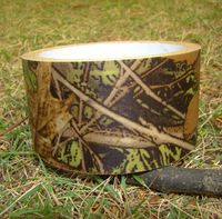 Camouflage Cloth mossy realtree hunting duct tape/adhesive tape 10m/5cm wide hunting fishing military FREE SHIPPING