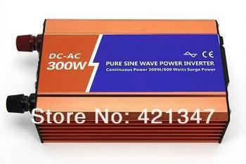 variable frequency drive,300w/300watt/300AH,max 600watt pure sine power inverter for solar wind home use