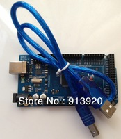 Free shipping 1LOT=1PCS MEGA2560 R3 ATmega2560 AVR USB board +1PCS USB cable ATMEGA2560 / ATMEGA16U2