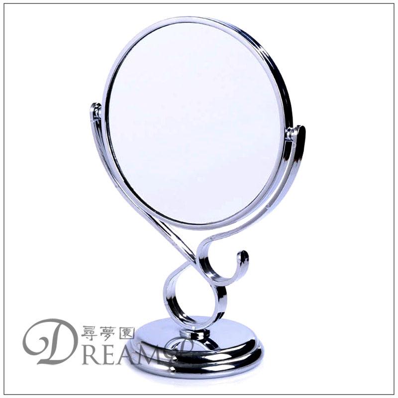 L'arrivée de nouveaux mode de style européen double face de bureau grand dressing miroir de maquillage en plastique en métal peinture non. 530 livraison gratuite