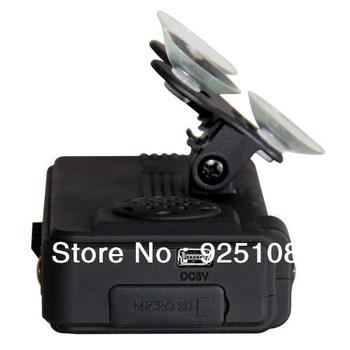 "Vehicle Car Video Recorder 1/4"" CMOS (VGA resolution) With Internal 3D G-Sensor Two USB Port Input Car DVR"