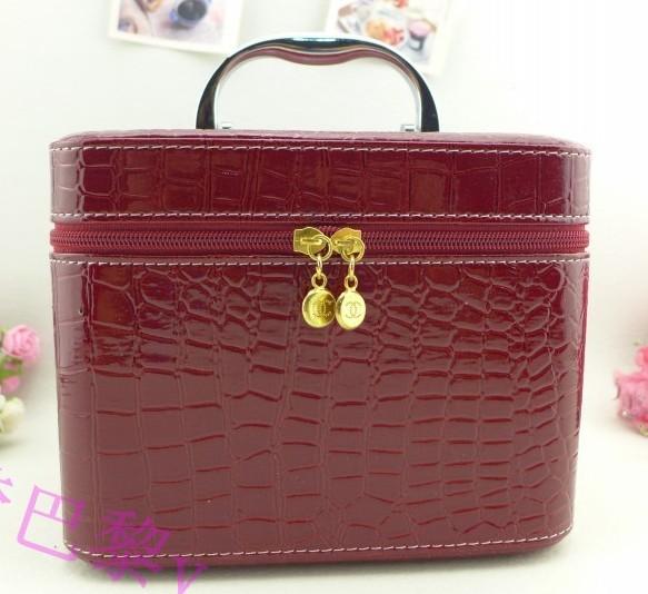 New wholesale woman cosmetic box women's large capacity storage bag wash travel bag jewelry box(China (Mainland))