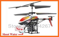 Water Spray Helicopter 3.5 Channel RC Infrared Control WLToys V319 Shoot Water Mini Helicopter toys Wholesale