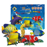 Undersea World-B(8TYPES) 3D DIY TOYS