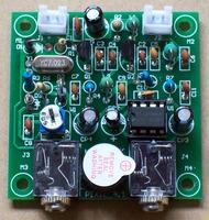 The QRP Pixie Kit CW 40 meter band Receiver Transmitter 7.023 MHZ, DIY kit , Short-wave radio transmitter receiver