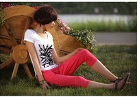 2015 Casual harem pants female trousers plus size women clothings
