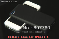 Free shipping 2200mah portable Backup battery case charger  power bank  for Iphone5 wholesale and retail