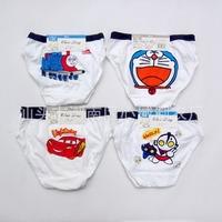 2013children boys underwear briefs panties fit 1-9yrs baby kids cartoon underwear shorts clothing 12pcs/lot one size mix design