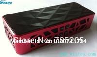 Free Shipping Portanle  Bluetooth  Speaker  Bluetooth 2.1 plus EDR  Steoro Aluminium Alloy Case Supper Bass Quality Sound