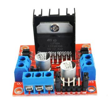 5pcs/lot Stepper Motor Drive Controller Board Module L298N Dual H Bridge DC For Arduino FZ0407 Free Shipping