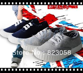 2013 New Hot British Brand! Senior Denim&Canvas shoes / 13.3-18.6cm Children's leisure sports shoes / 5pair/lot Free Shipping