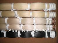 1kgs high qualtiy white bow hair & 1kg middle grade white bow hair Plus 500 grams black bow hair all in 32 inches