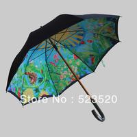 Totoro umbrella Ghibli umbrella  Hayao Miyazaki's animation umbrella Ghibli  The double UV sun umbrella