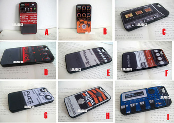 Snap on 3G mobile phone case for iPhone case 4/4S/5 rock roll player Guitar Pedal Effects Processor