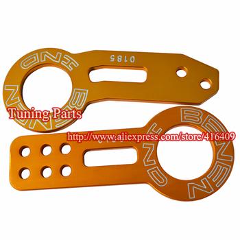 Anodized CNC Aluminum JDM 0185 BENEN Car Tow Hook
