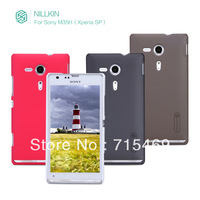 HK ship  for Sony M35h  Xperia SP  case  Nillkin super frosted shield +Screen protector for free