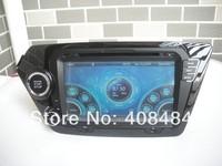 8 Inch 2DIN Car Radio Audio DVD Player GPS TV iPod Games Bluetooth For KIA K2 2011+ RIO 2012+ For Retail/Pcs Free Shipping