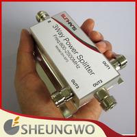 3-way 800~2500MHz N-female RF Power Divider Splitter for Cellphone Booster