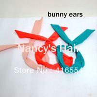 Free Shipping New Choose 20 PCS Cute Women Girls Headband Rabbit Bunny Ear Wire Hair Band Hairband