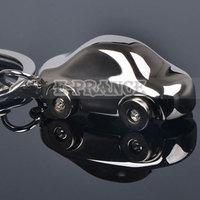 5pcs/lot Brand New Car Key Ring Stereoscopic Solid Metal Car Model Free Shipping