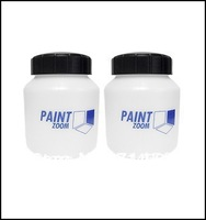 2pc/lot,Promotion Hot Sales Electrical Paint zoom Plastic Bottle Container 800ML / Paint Zoom Parts,   As Seen On TV