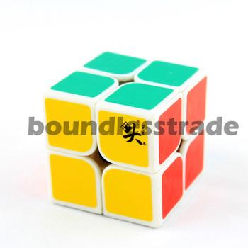 Dayan Zhanchi 50mm 2x2 Two-Layer I White Magic Cube Puzzle _SP111