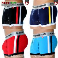 Free Shipping!!-6 PCS/LOT Boxer Shorts/ Man Underwear/ Mens Boxer Shorts/ Mix Colors (N-456)