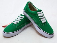 Classical high quality men /boy canvas shoes Brand new Free shipping Green  EUR Size 36-45 US 4-11 NO2674