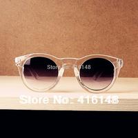 2013 fashion tops  Fashion clear  Sunglasses Men Women Brand Designer free shipping wholesale oculos de sol
