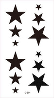 28 , diy new arrival tattoo stickers solid