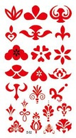 Free shipping temporary tattoos waterproof head 10