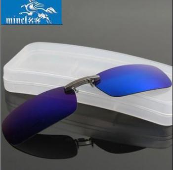 Солнцезащитные очки клип поляризованных солнцезащитных очков клип близорукость ночного ...