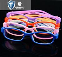 Ultra-light soft silica gel child glasses frame child eyeglasses frame