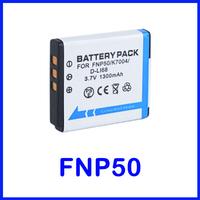 NP-50 Battery for FUJIFILM FinePix XP100, XP110, XP150, XP160, XP170, XP200, REAL 3D W3 and Fuji X10, XF1, X20 Digital Camera