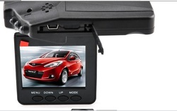 Free Shipping 270 Rotating Mobile Detection H198 Retail Package Car Video Camera H198(China (Mainland))