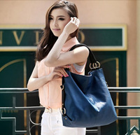 Mass leather handbag Simple and easy summer fashion female package 946